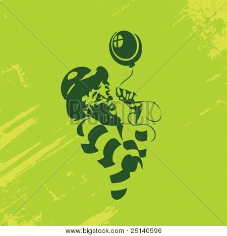 Clown Illustration Series