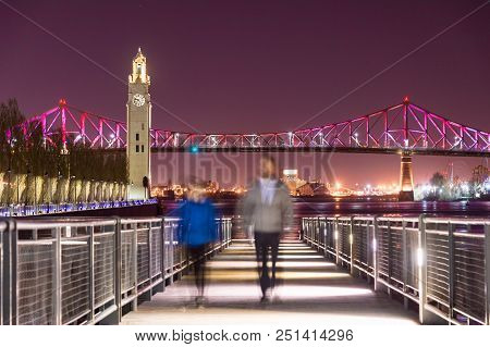 The Jacques-cartier Bridge's New Lighting System