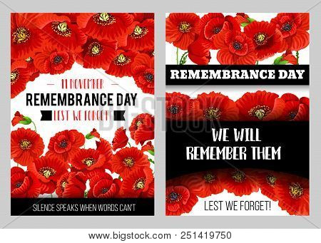 Remembrance Day Vector Photo Free Trial Bigstock