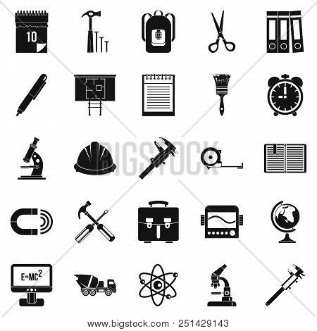 Compass Icons Set. Simple Set Of 25 Compass Vector Icons For Web Isolated On White Background