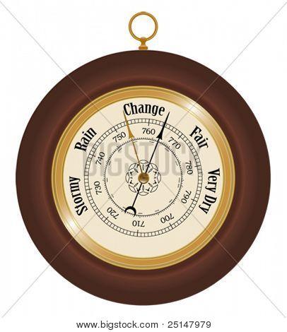 Barometer detailed illustration