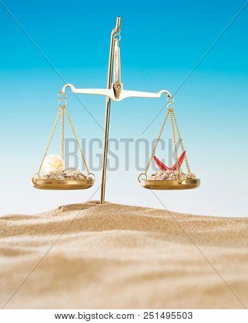 Judicial Holiday Concept