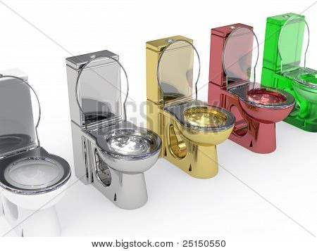 Line Of Varied WC