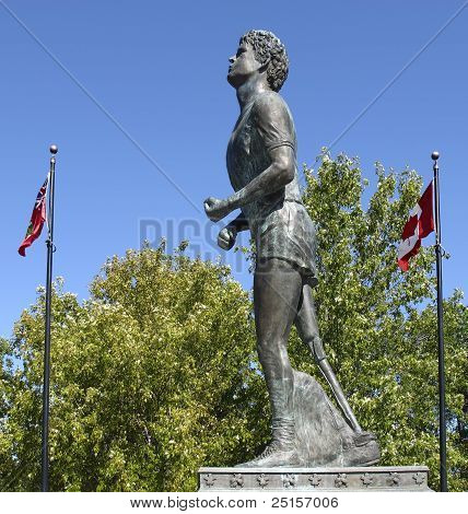 Statue von Terry Fox Thunder Bay