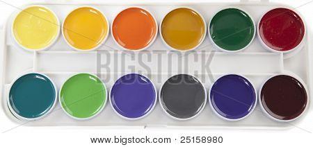 Colorful Watercolors