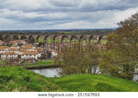 Royal Border Bridge, The Railway Viaduct Across The River Tweed Between Berwick-upon-tweed And Tweed