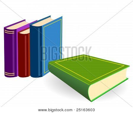The Four Books On A Table