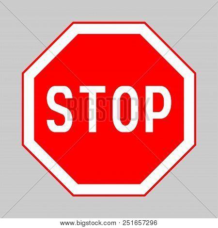 Stop Sign, Stop Sign Icon, Stop Sign, Traffic Sign Stop