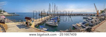 Sochi, Russia - September 5, 2015: Panoramic View Of The