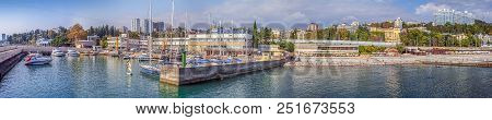 Sochi, Russia - September 5, 2015: Panorama Of The
