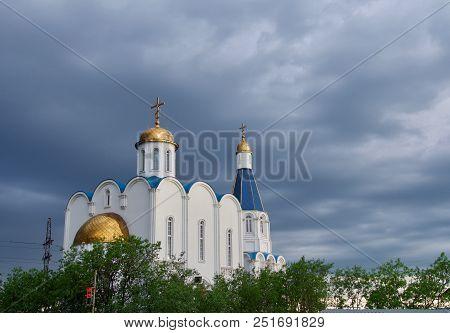 Church Of The Savior In Murmansk City , Russia