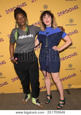 CHICAGO - JUL 25: Actress Yolonda Ross (L) and Refinery29 co-founder Piera Gelardi attend Refinery29's