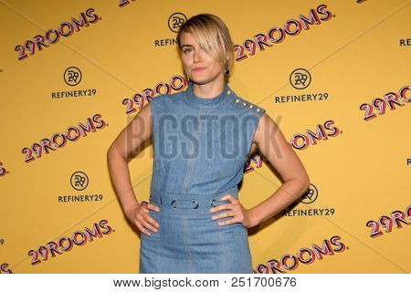 CHICAGO - JUL 25: Actress Taylor Schilling attends Refinery29's