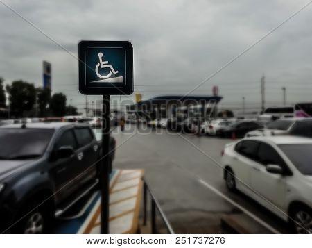 Parking In Gas Station, Long Weekend, Car Season, Parking Lot, Full Parking, Handicapped Parking.