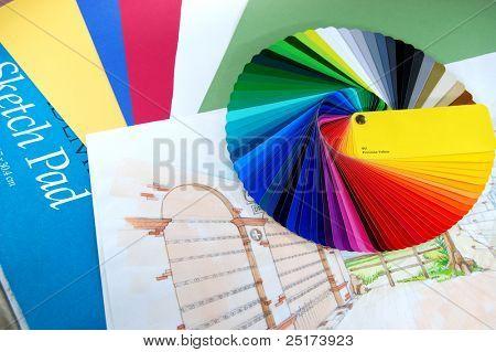 Coloring plan