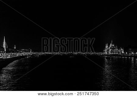 The Crossings Of The Danube River In Budapest