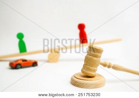 ownership of the car. court trial of a traffic violator. Selling vehicle. auction. hammer of a judge. auto right. road traffic accident, offender guilty, insurance poster