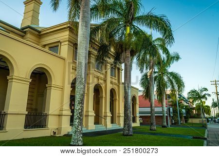 Police Station Art Deco Building In Mackay, Queensland, Australia