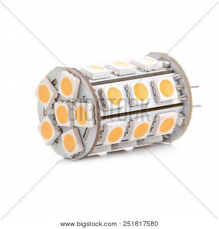 Led Lamp G4 Isolated On White Background