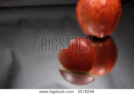 Incised Apple Heart