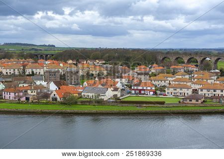 Tweedmouth, A Village Of Berwick-upon-tweed Located On The South Bank Of The River Tweed In Northumb