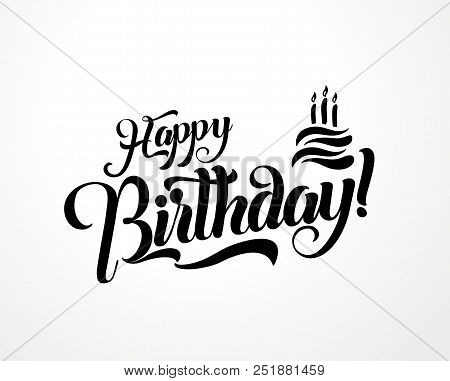 Happy Birthday Vector & Photo (Free Trial) | Bigstock