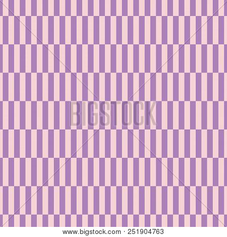 Abstract Color Pattern Of Rectangles. Repeating Staggered Striped Pattern. Checkered Geometric Contr