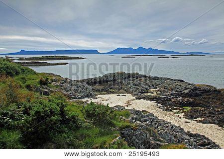 Isles of Eigg and Rhum, Hebrides, Scotland