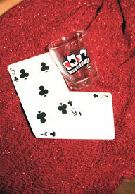 Playing Cards With Clubs