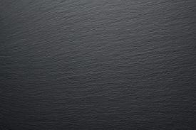 Blank Dark Gray Slate As Textured Background