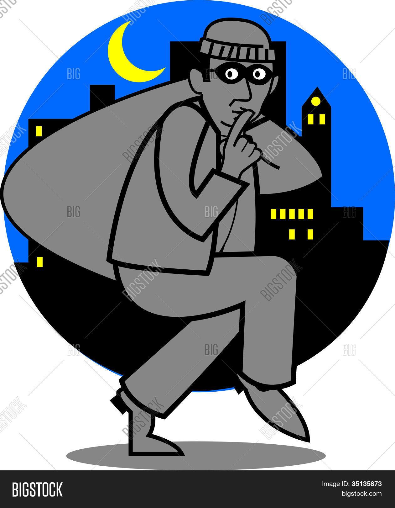 burglar clip art vector photo free trial bigstock rh bigstockphoto com burglar clipart burglary clip art