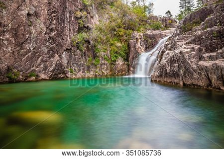 Portela Do Homem Waterfall - Peneda-geres National Park, Portugal, Europe