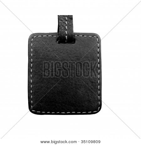 Leather Tag Label