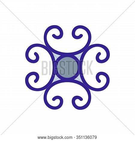 Blacksmith Icon Vector. Thin Line Sign. Isolated Contour Symbol Illustration