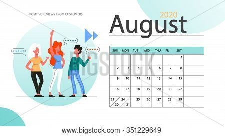 Real Estate Advantage Annual Calendar August. Idea Of House For Sale