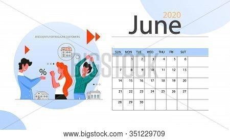 Real Estate Advantage Annual Calendar June. Idea Of House For Sale