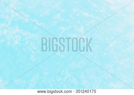 Pale Blue Turquoise Aquamarine Color Gradient Color. Concrete Or Beton Pattern, Patchy Background
