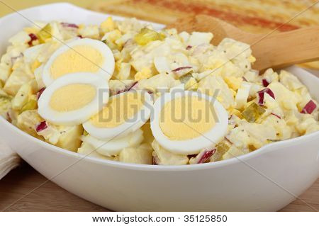 Bowl Of Potato Salad