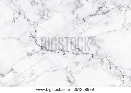 Natural White Marble Texture For Skin Tile Wallpaper Luxurious Background, For Design Art Work. Ston