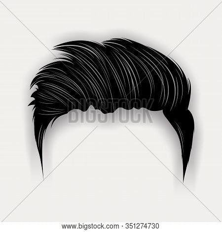 Hair Style Man. Men With Variety Of Fashionable Hairstyles. Design Element For Beauty Salon And Hair