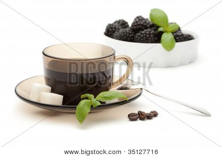 A Cup Of Coffee Fruits