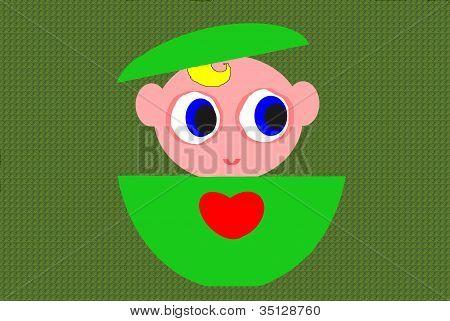 love baby green