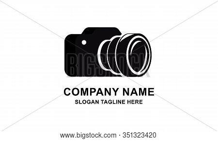Camera Logo, Photography For Design Vector Illustration