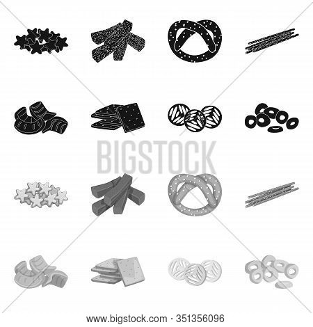 Isolated Object Of Oktoberfest And Bar Symbol. Collection Of Oktoberfest And Cooking Vector Icon For