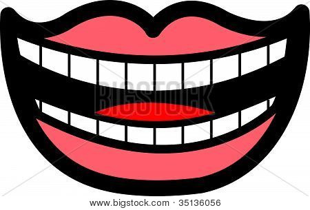 Mouth Smile Teeth Clip Art