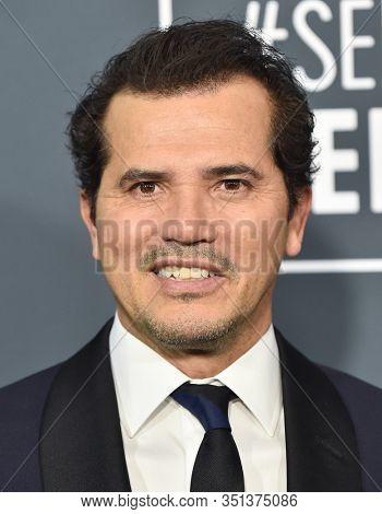 LOS ANGELES - JAN 12:  John Leguizamo arrives for the 25th Annual Critics' Choice Awards on January 12, 2020 in Santa Monica, CA