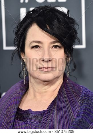 LOS ANGELES - JAN 12:  Amy Sherman-Palladino arrives for the 25th Annual Critics' Choice Awards on January 12, 2020 in Santa Monica, CA