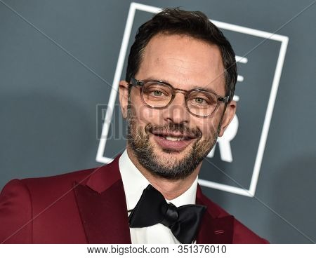 LOS ANGELES - JAN 12:  Nick Kroll arrives for the 25th Annual Critics' Choice Awards on January 12, 2020 in Santa Monica, CA