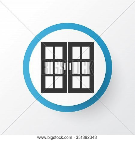 Window Icon Symbol. Premium Quality Isolated Casement Element In Trendy Style.