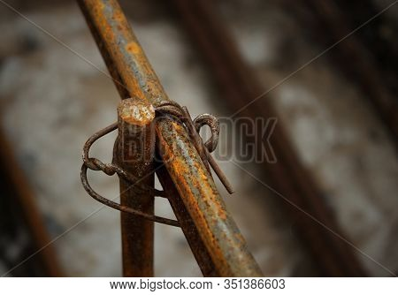 Reinforcing Steel Rod For Construction, Construction Work.reinforcing Steel Rods With Wire Rod Are U